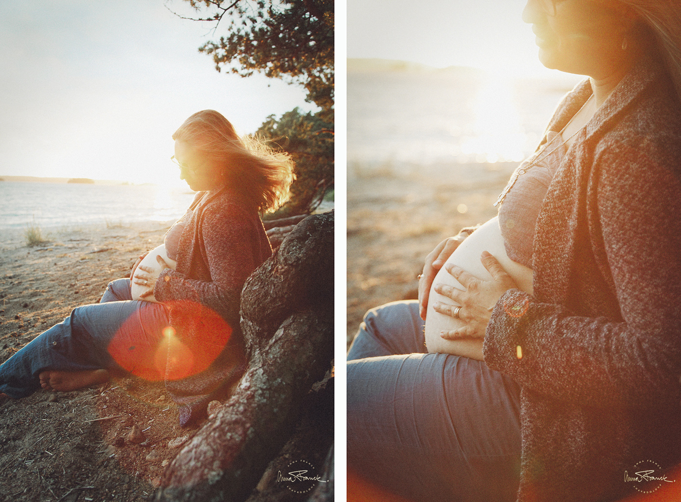 anna, franck, photography, stockholm, pargas, photographer, stockholmfotograf, gravid, pregnancy, raskaana, gravidbilder, mustfinn, sunset, softlight, natural, motherhood, mamma, äitiys